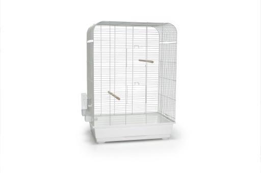 Vogelkäfig Nina - Weiß - Beeztees